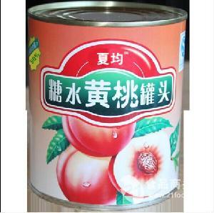 烘焙黄桃罐头