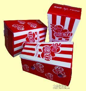 专业生产汉堡盒、鸡米花盒、薯条盒等快餐包装盒