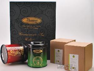 印度红茶礼盒 大吉岭红茶 阿萨姆红茶 2个红茶杯