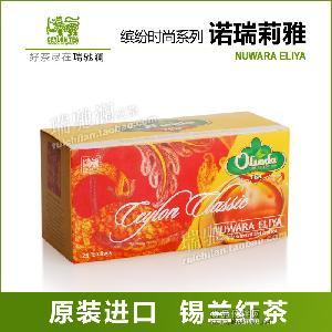 诺瑞莉雅红茶包 锡兰红茶中的香槟 斯里兰卡原装进口袋泡茶