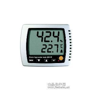 德国 德图testo 608-H2 温湿度表 显示湿度/露点/温度 带LED报警