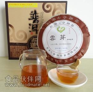 普洱茶 生茶 七子饼 云芽2003年陈年普洱生茶 醇厚甘甜