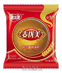 麦优美欧式香绵蛋糕35g