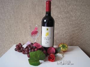 君王战赤霞珠梅洛干红葡萄酒