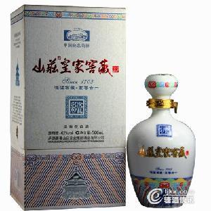 山庄老酒*窖藏彩瓷