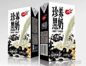 牛奶代理珍养黑奶 三剑客奶业