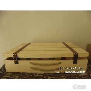 红酒礼盒六支装 红酒木箱 6只红酒包装盒 红酒木盒 松木酒盒定做