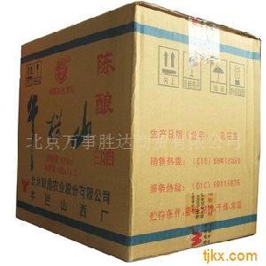 北京牛栏山酒价格(白牛二专卖)42度牛栏山白瓶陈酿500ml