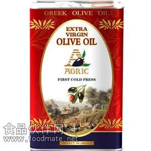 阿格利司橄榄油,阿格利司特级初榨橄榄油铁桶4000ml