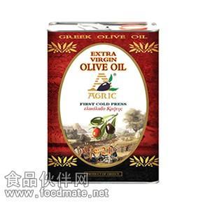 阿格利司橄榄油,阿格利司特级初榨橄榄油铁桶2000ml