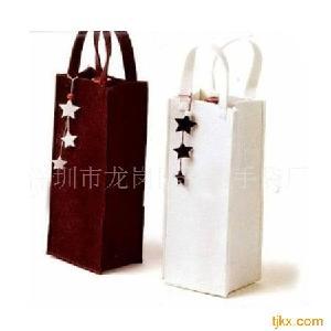 红酒礼品袋洋酒礼品袋红酒包装袋生产商