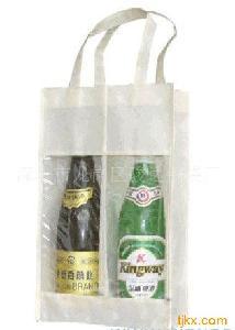 手提红酒袋啤酒袋2支装啤酒包装袋红酒包装袋