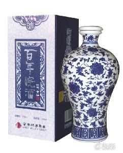 """""""天青""""百年皖酒(青花瓷)"""