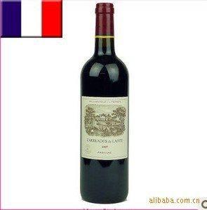 法国拉菲(副牌)小拉菲干红葡萄酒2007年 750ML