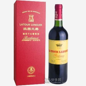 法��原瓶�M口 拉�D�m爵皇冠干�t葡萄酒