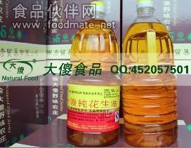 纯花生油有机的传统工艺热轧浓稠香醇