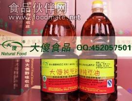 純大豆油 有機的 傳統工藝熱軋 濃稠香醇