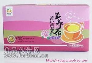 云南特产 苦荞茶花草茶 玫瑰香型 盒装 100g