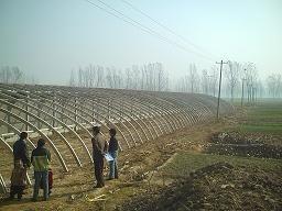 蔬菜大棚支架机结构,了解大棚支架机,养殖大棚支架机