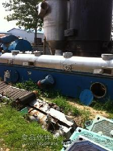 二手震动流化床干燥机 二手真空双锥干燥机