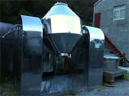 处理2000L二手搪瓷真空双锥干燥机、二手闪蒸干燥机