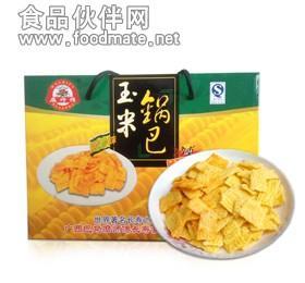 玉米锅巴 世界长寿乡广西特产精品礼盒装608g