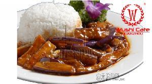 【伍の料理】鱼香茄子冷冻调理包、速食餐包、料理包