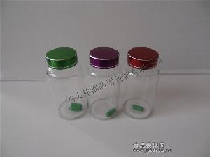 供应保健品玻璃瓶 高档透明玻璃瓶