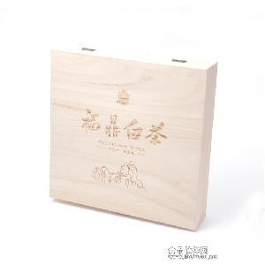 特价福鼎白茶空礼盒饼茶礼盒木盒357饼礼品盒环保桐木茶叶包装盒