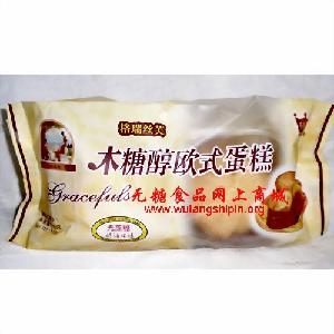 无糖食品批发格瑞芙丝木糖醇欧式蛋糕奶油味