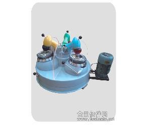 三頭研磨機|化驗制樣精磨器|實驗研磨機