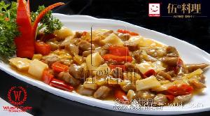 【伍の料理】三椒牛肉丁速食餐包、冷冻调理包、料理包