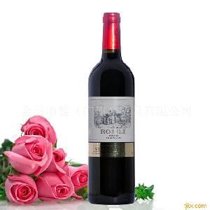 法国原装进口红酒  红酒 威尔斯鹰梅洛干红葡萄酒 2007