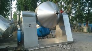 百科二手3000升3立方3吨不锈钢双锥真空回转干燥机