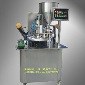 自动装膏体的定量灌装机