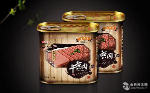 后厨房午餐肉罐头340g
