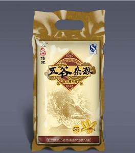 定做黑龙江5KG大米真空包装袋
