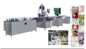 马口铁易拉罐饮料包装生产线