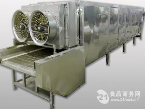 三层网带式食品烘干机
