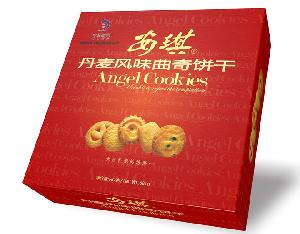 安琪曲奇饼干681g,铁罐装