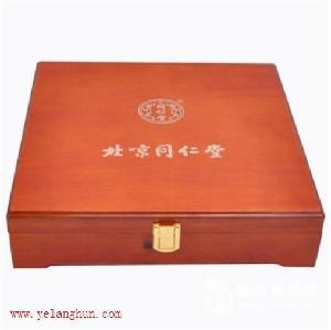 同仁堂玛咖包装盒玛咖木盒喷漆玛咖盒