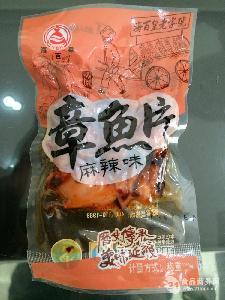 麻辣章鱼片