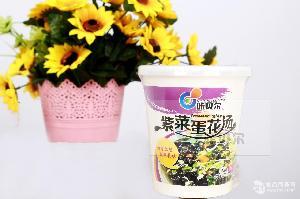 咔贝尔紫菜蛋花速食汤