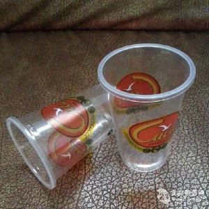 耐高温一次性塑料奶茶杯