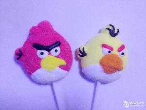 愤怒的小鸟棉花棒棒糖