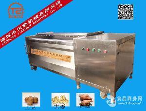 土豆清洗脱皮机械