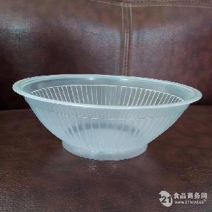 pp耐高温一次性透明400ml可封口梅菜扣肉碗